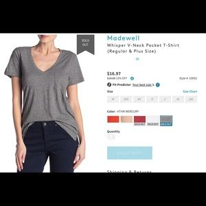 Set of 3 Madewell tees